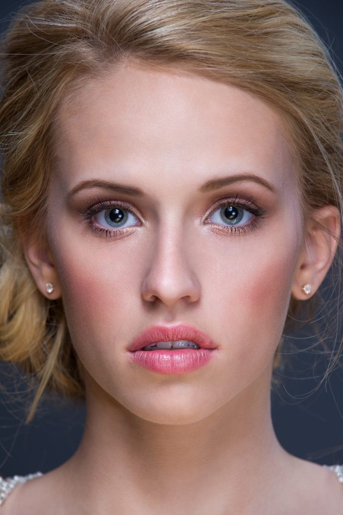 Classic, timeless bridal beauty by LA Page Makeup, professional makeup artist in CT.