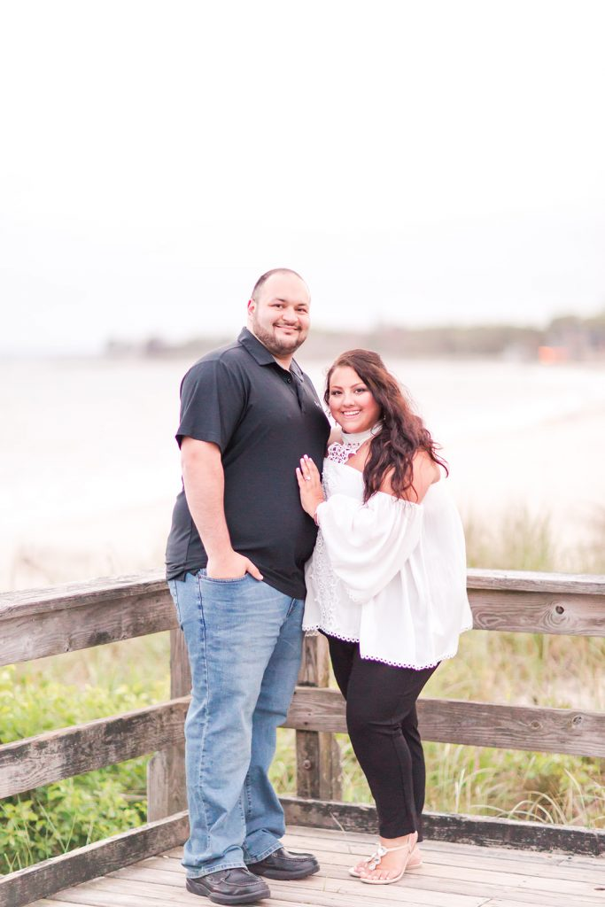 Beautiful makeup by LA Page Makeup for this engagement shoot at Harkness Memorial State Park in Waterford, CT.