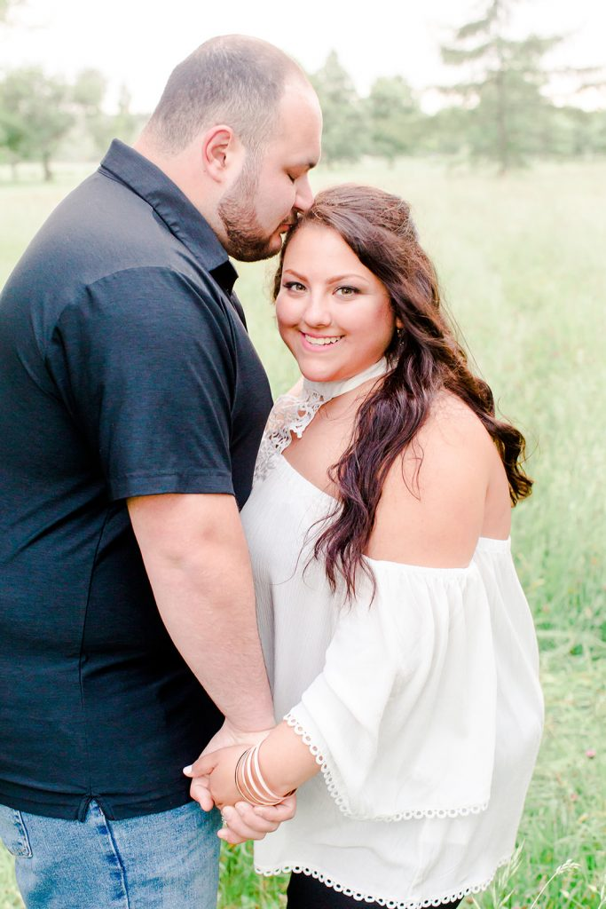 Stunning engagement session makeup by LA Page Makeup at Harkness Memorial State Park in Waterford, CT.