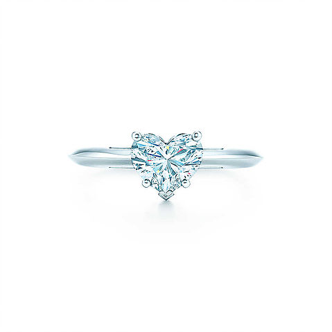 Tiffany & Co. Heart Shape Engagement Ring