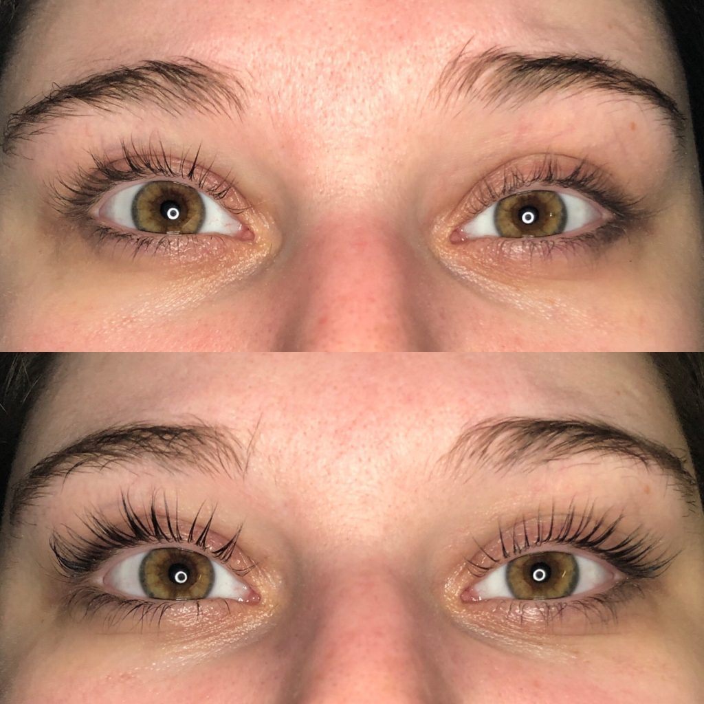 Lash lift and tints make anyone's lashes POP - even luscious, long lashes!