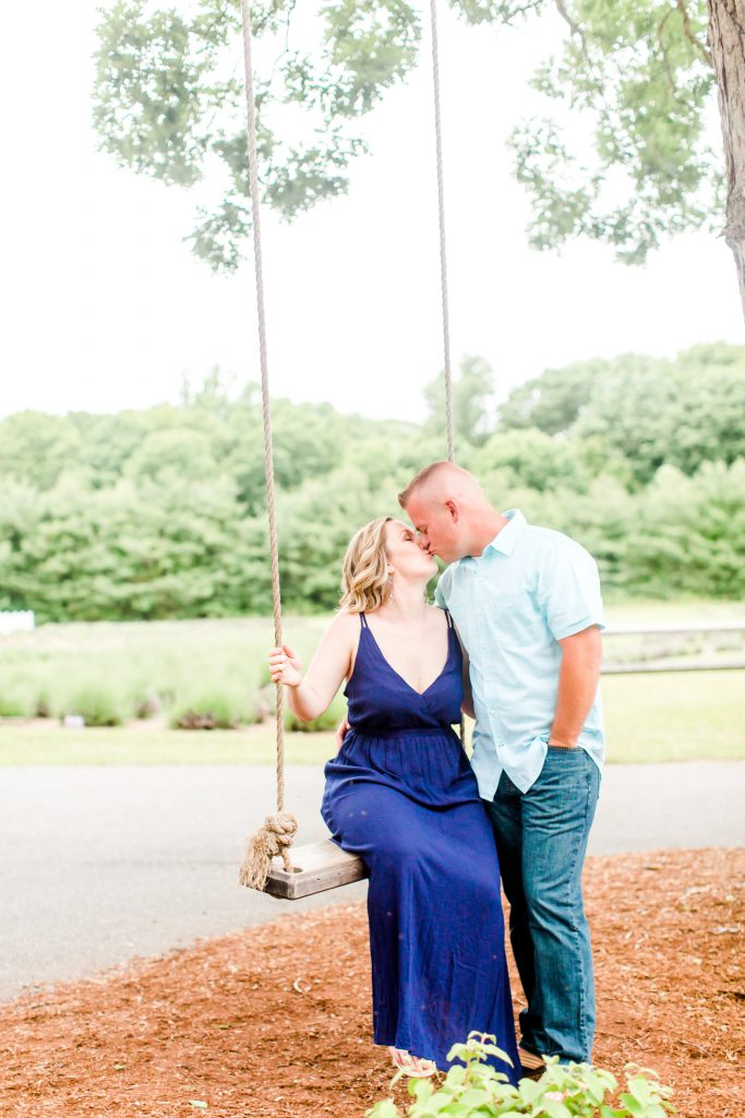 Romance at its finest at Lavender Pond Farm in Killingworth, CT.