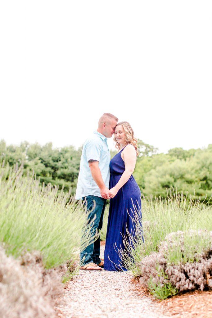 Madly in love at Lavender Pond Farm in Killingworth, CT.
