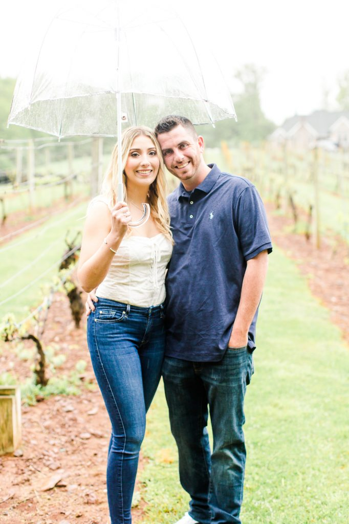 Makeup by LA Page Makeup for this beautiful engagement photoshoot at Paradise Hills Vineyard in Wallingford, CT.