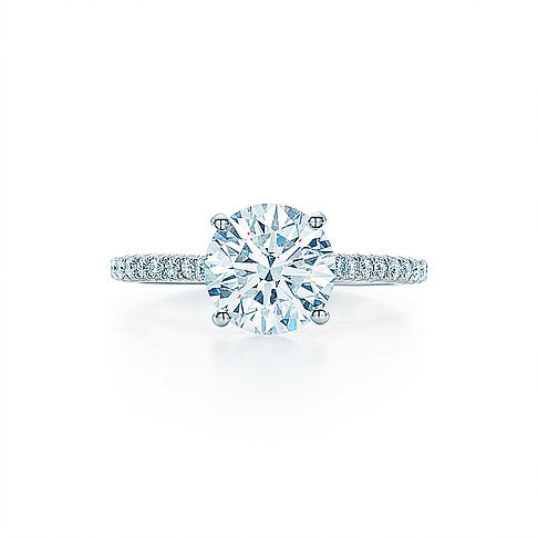 Tiffany & Co. Round Solitaire Engagement Ring