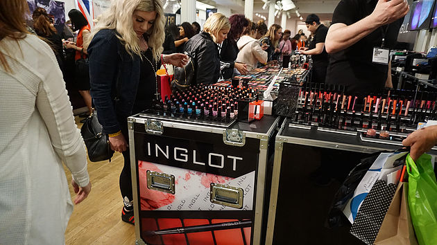 Inglot at The Makeup Show NYC 2017!