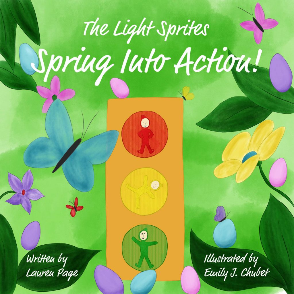 The Light Sprites: Spring Into Action! Book