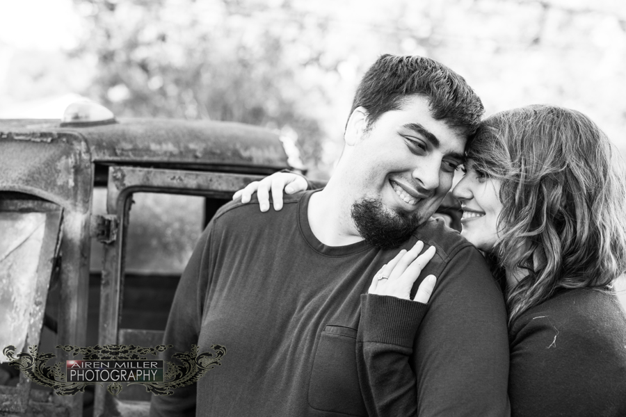 Black and white portraits get me every time! Lovely shot during an engagement session at Beaumont Farm in Wallingford, CT.