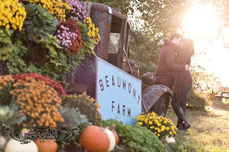 Beaumont Farm in Wallingford, CT hosted a wonderful Fall engagement session!