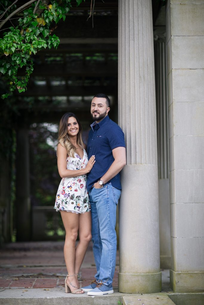 Violet and David had the perfect personalities to create a loving and fun photoshoot in one! Check out their gorgeous engagement session at Harkness Memorial State Park in Waterford, CT!