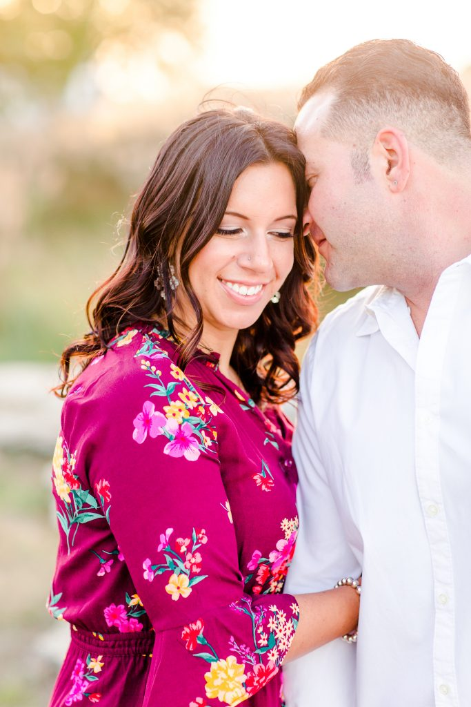 In love with this makeup shot at Nick and Jessica's engagement session in Old Saybrook, CT.