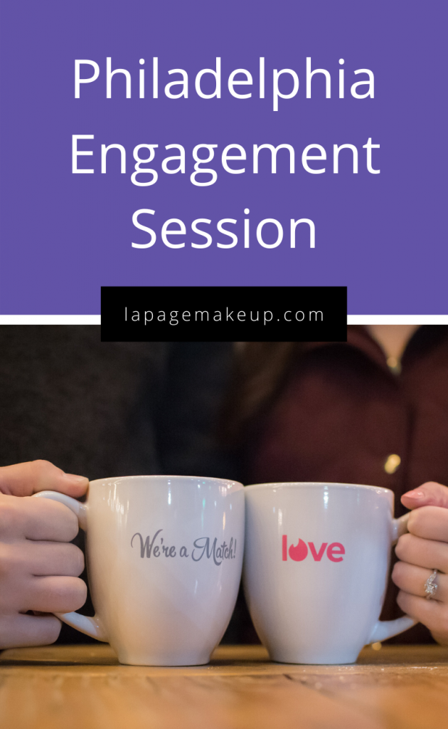 coffee mugs, tinder, engagement session, engagement photoshoot
