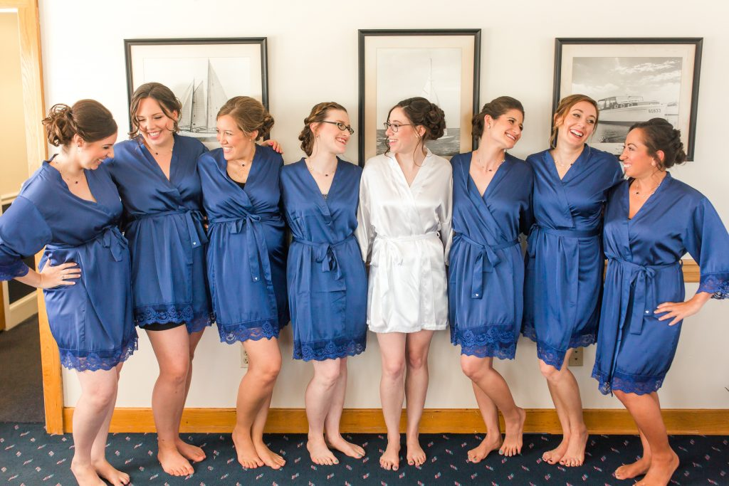 You HAVE to get the classic bridal party robes shot, right?!