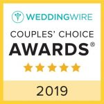 LA Page Makeup is proud to have been chosen for the 2019 Couples' Choice award from Wedding Wire!