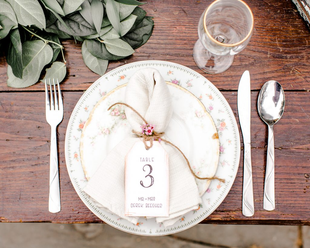 Cutest table numbers ever! Perfect for this rustic barn wedding at the Webb Barn in Wethersfield, CT.