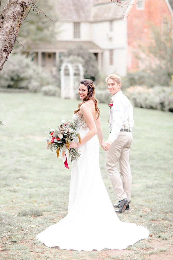 This bride has a lot to be happy about - just look at the adoration in her groom's eyes!