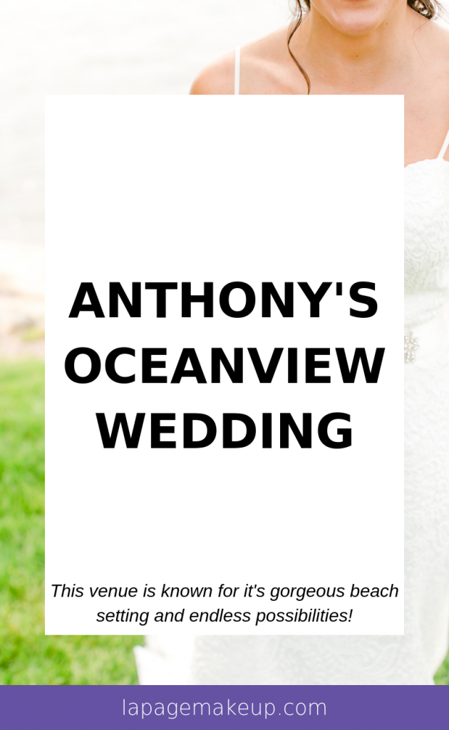 Anthony's Oceanview in New Haven, CT is an ideal beach wedding venue with endless possibilities for decorations, stunning photography, beautiful colors, and an ideal ceremony and reception area.