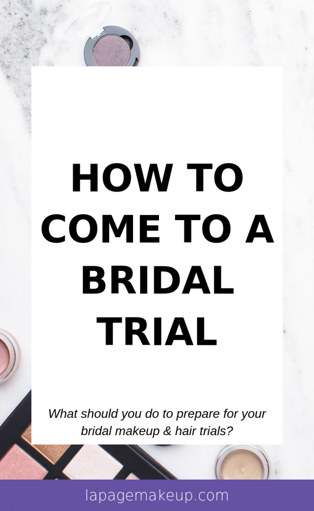 Knowing how to come to a bridal trial can be stressful. What do you bring? What questions do you ask? We're here to help make things easier!