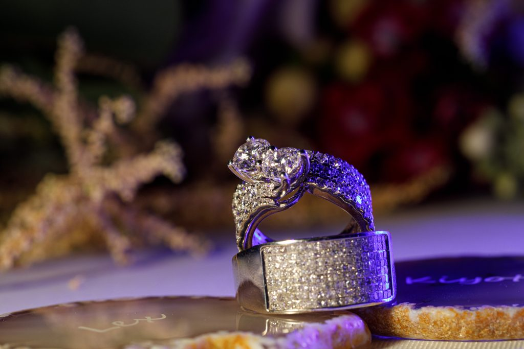 Everyone loves a beautiful shot of their wedding rings!