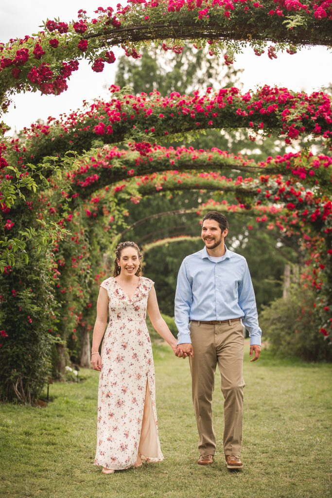 How gorgeous are these floral arches at Elizabeth Park in West Hartford, CT?!