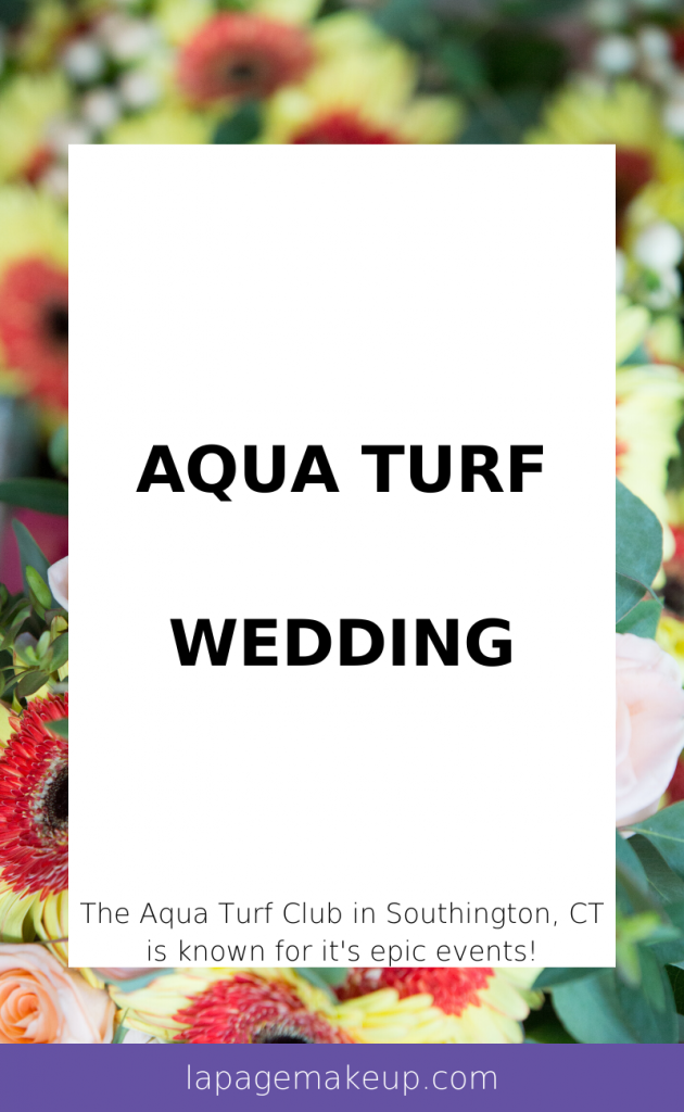 The Aqua Turf Club in Southington, CT is known for it's epic events - anything from weddings, proms, and work functions!