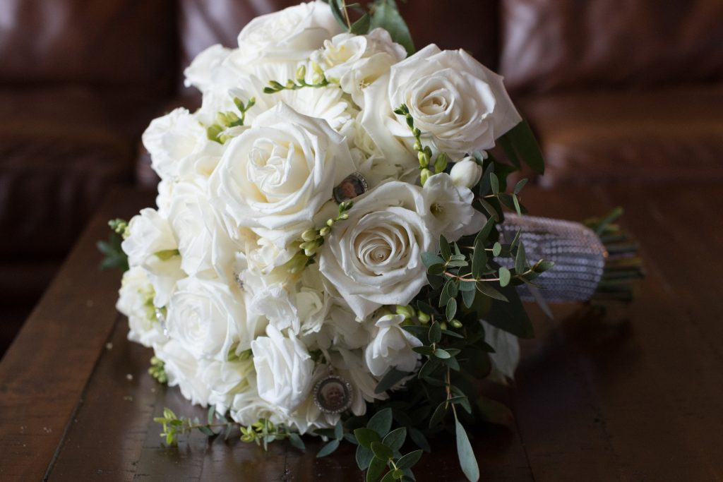 Every wedding day deserves the most perfect white roses.