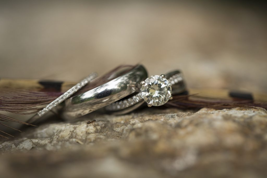 The wedding ring shot is always a classic!