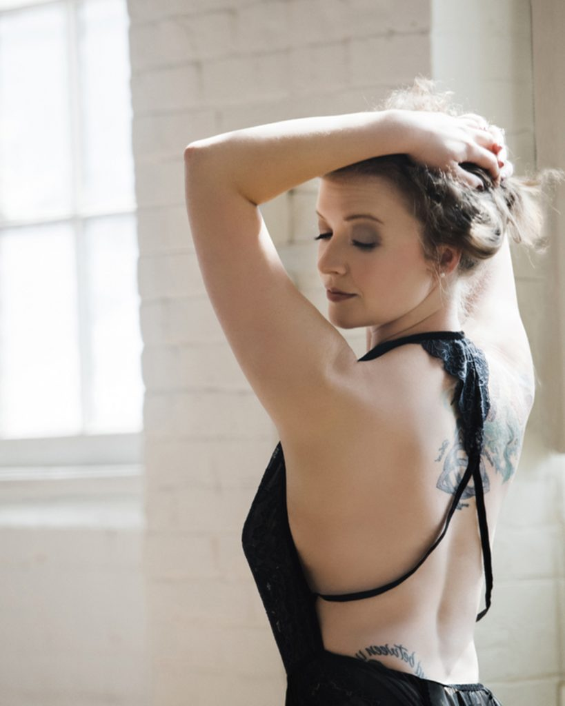 Got tattoos? Show them off with a sexy boudoir photoshoot!