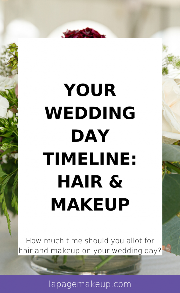 At LA Page Makeup, we strive to get you and your bridal party ready in a timely fashion without compromising the beautiful details of the hair and makeup process.