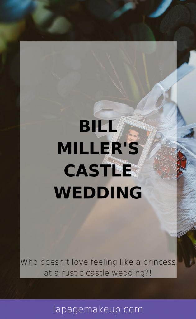 This wedding at Bill Miller's Castle in Branford, CT will have you wanting to feel a princess at a rustic castle wedding yourself!