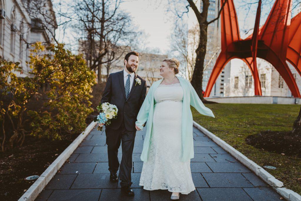 happy bride, happy groom