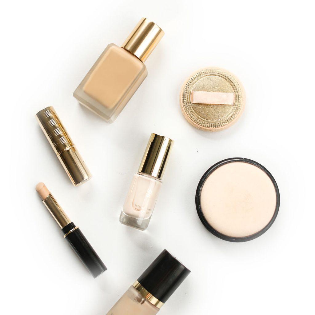 makeup, foundation, powder, concealer, powder puff