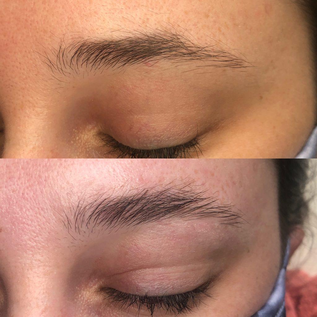 eyebrow lamination