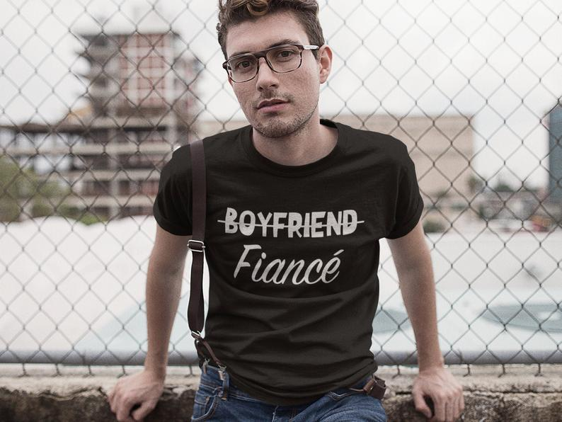 black unisex tshirt with text